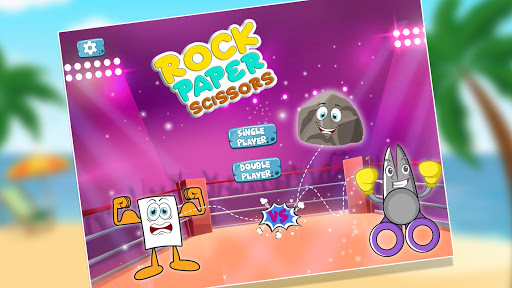 rock paper scissor epic battle childhood game screenshot 1