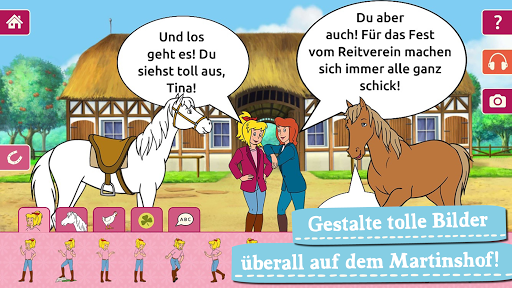 Bibi & Tina: Pferde-Abenteuer Apkfinish screenshots 4