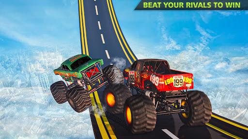 Monster Truck Stunts on Impossible Track New 2021 apktram screenshots 3