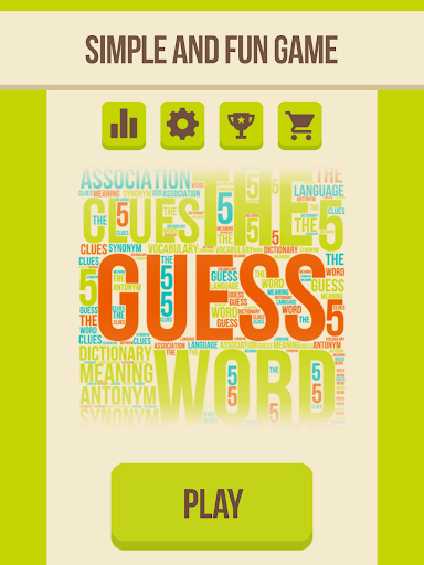 Guess the word - 5 Clues, word games for free 2.8.1 screenshots 3