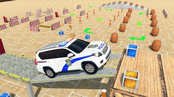 Police Prado Car Parking Games 3D Parking Car Game