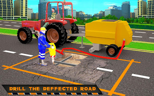 Highway Construction Road Builder 2020- Free Games 2.0 screenshots 4