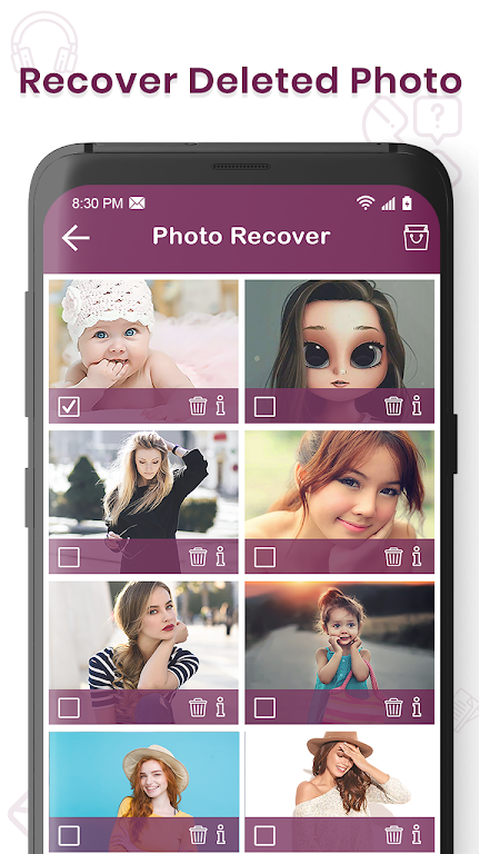 Recover Deleted All Photos, Files And Contacts  poster 1