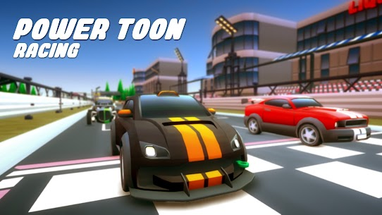 Power Toon Racing Mod Apk (Unlimited Money) 0.1.0 1