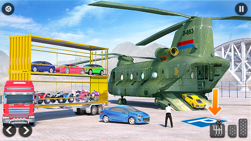 US Army Transporter Plane - Car Transporter Games screenshots 2