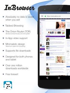 InBrowser – Incognito Browsing – Mod APK [Unlocked] 1