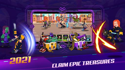 Stickman Super Heroes - Stick Battle Arena Fight screenshots 4