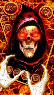 Evil, Hell, Skull Theme & Live Wallpaper 1.0 Mod + Data for Android 1