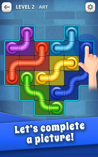 Line Puzzle: Pipe Art 20.1124.00 screenshots 3