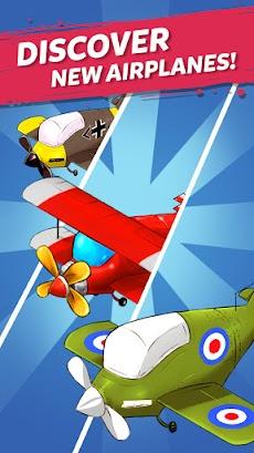 Merge Airplane: かわいい飛行機合併のおすすめ画像4