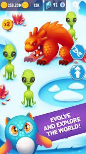 外国人の進化クリッカー:進化する種