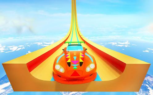 grand vertical ramp car racing: mega ramp stunts hack