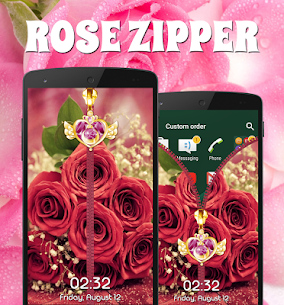 Rose Zipper Lock Screen For Pc | How To Install – (Windows 7, 8, 10 And Mac) 5