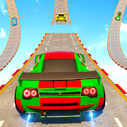 Sports Car Crazy Stunts 2021- Mega Ramp Car Games