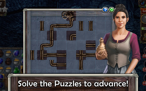 MatchVentures - Match 3 Castle Mystery Adventure apkslow screenshots 23