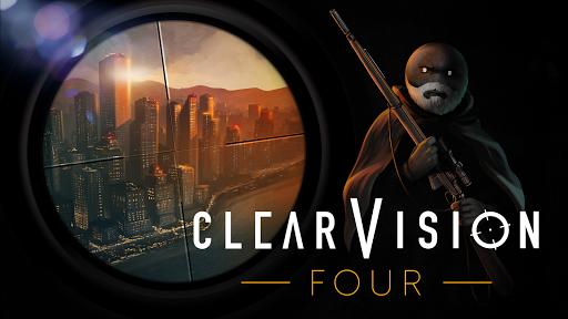Clear Vision 4 - Brutal Sniper Game APK MOD – Pièces de Monnaie Illimitées (Astuce) screenshots hack proof 1