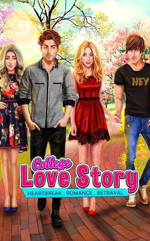 College Love Story: Interactive Game with Chapters  poster 20