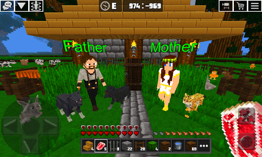 Multicraft: Block Craft Mini World 3D screenshots 1