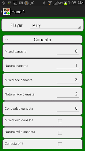 Canasta Score Pro For PC Windows (7, 8, 10, 10X) & Mac Computer Image Number- 7
