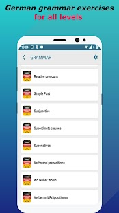 Deutsch lernen mit Quiz: German Language & Grammar Screenshot