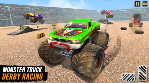 Real Monster Truck Demolition Derby Crash Stunts  screenshots 1