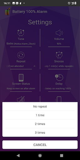 Battery 100% Alarm 4.3.3 Screenshots 6