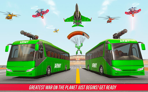 Army Bus Robot Car Game u2013 Transforming robot games 5.1 Screenshots 4