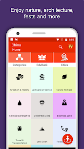 China Travel & Explore, Offline Country Guide 2.1.6 Mod Android Updated 1