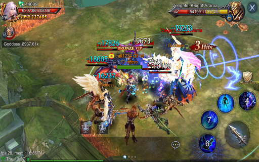 Goddess: Primal Chaos - Free 3D Action MMORPG Game  screenshots 16