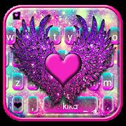 Galaxy Heart Wings Keyboard Theme