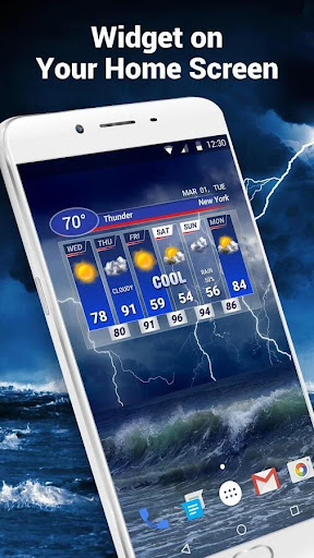 pro weather forecast app& widget ⚡ screenshot 1