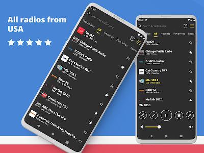 Radio USA: Free FM Radio App, Music & News 1.9.46 (Ad-Free)