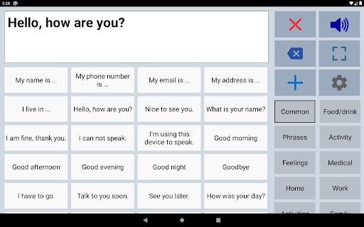 Speech Assistant AAC 5.7.4 Screenshots 7