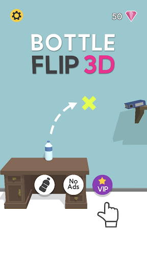 Bottle Flip 3D apktram screenshots 1