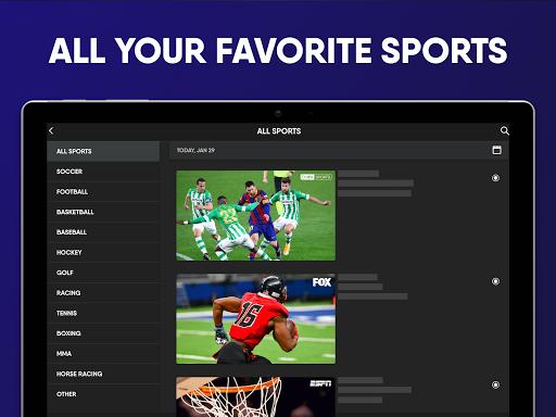 fuboTV: Watch Live Sports, TV Shows, Movies & News Apkfinish screenshots 7
