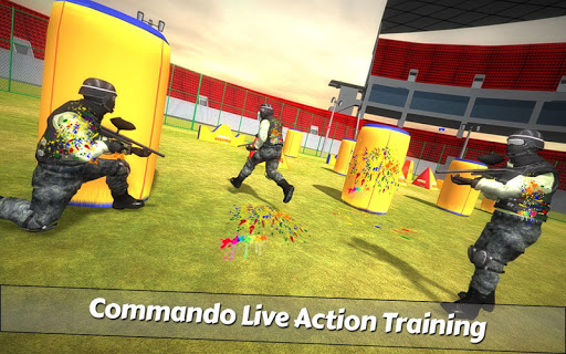 PaintBall Shooting Arena3D : Army StrikeTraining  screenshots 11