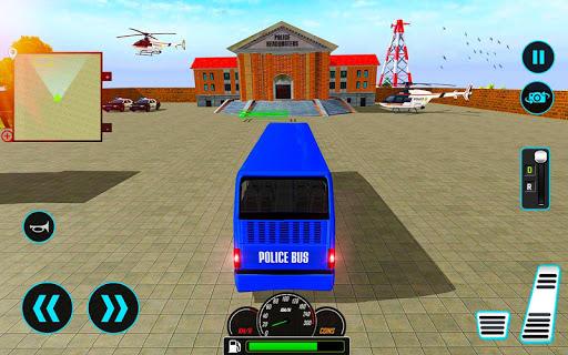 US Police Bus Mountain Driving Simulator  screenshots 4