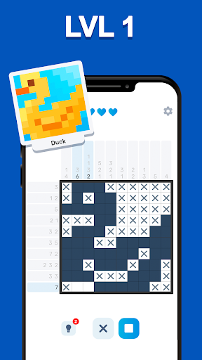 Nonogram Logic - picture puzzle games 0.8.7 screenshots 15