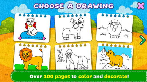 Coloring & Learn Animals - Kids Games 1.18 screenshots 2