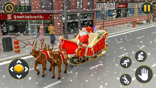 Christmas Santa Crazy Kart Gift Delivery Game 2020 1.2 screenshots 2