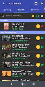 My Next Episode - Series Tracker 1.1.1