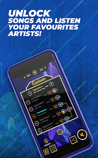 Guitar Cumbia Hero - Rhythm Music Game  screenshots 2