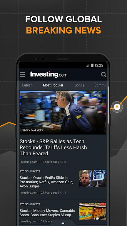 Investing.com: Stocks, Finance, Markets & News  poster 2