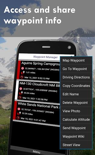 Polaris GPS Navigation: Hiking, Marine, Offroad 9.17 Screenshots 5