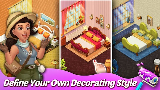 Matchington Mansion APK (MOD, Unlimited Coins) for Android 3