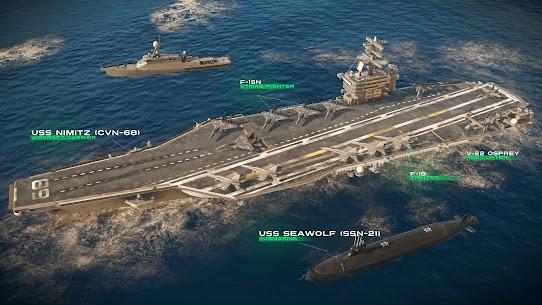 MODERN WARSHIPS MOD Apk: Sea Battle (Unlimited Ammo) 6