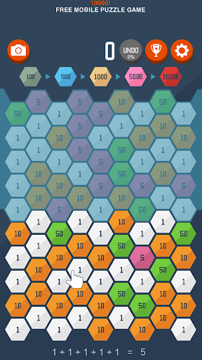 10000! - original indie puzzle (Big Maker) apkpoly screenshots 3