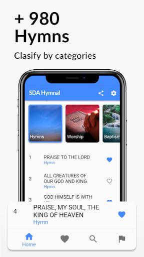 Seventh Day Adventist - SDA Hymnal  screenshots 2