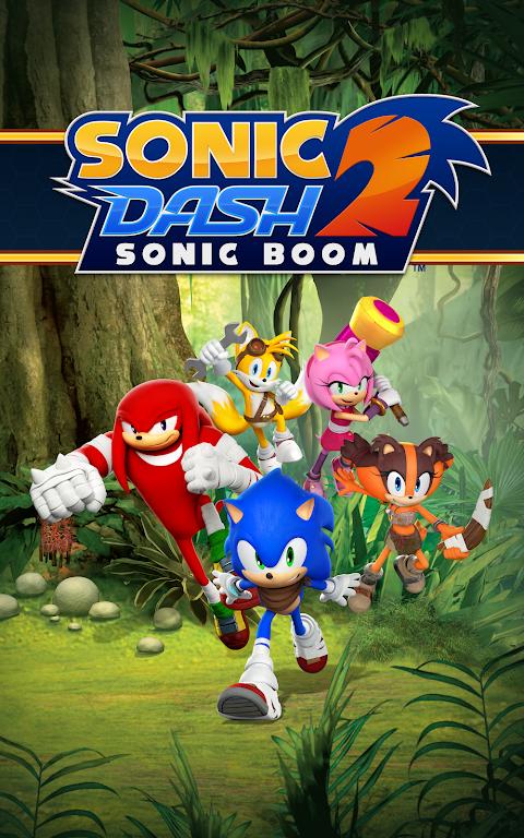 Sonic Dash 2: Sonic Boom poster 12