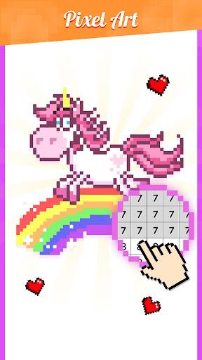 color artbook: number & puzzle screenshot 2